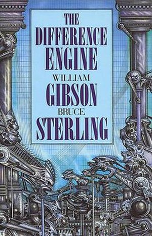 The Difference Engine - Cover of first edition (hardcover)