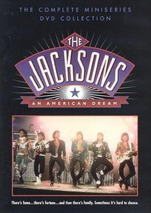 The Jacksons: An American Dream - The DVD cover for the miniseries.