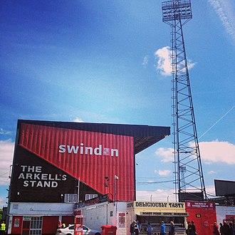2014–15 Swindon Town F.C. season - The County Ground, Swindon