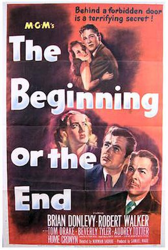 The Beginning or the End - 1947 theatrical poster