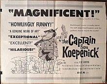 The Captain From Koepenick - half sheet.jpg