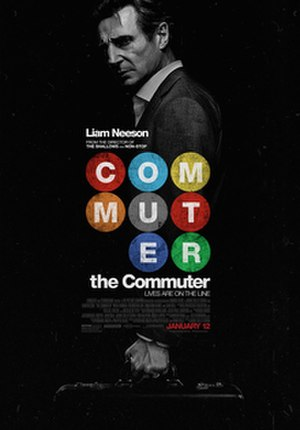 The Commuter (film) - Theatrical release poster