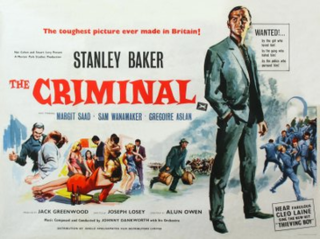 <i>The Criminal</i> (1960 film) 1960 film by Joseph Losey