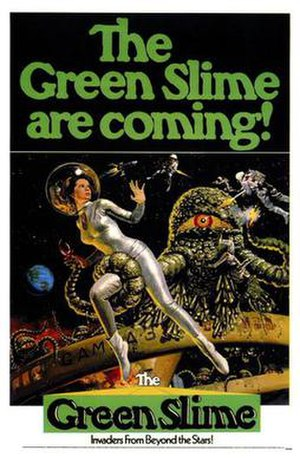 The Green Slime - U.S. theatrical release poster