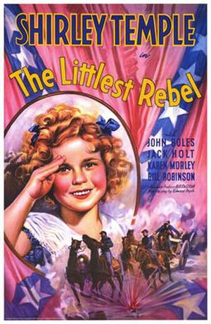 The Littlest Rebel - Theatrical poster