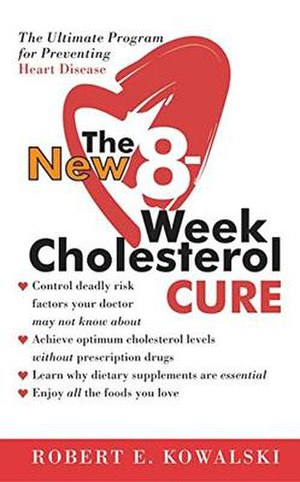 The 8-Week Cholesterol Cure - paperback cover photo