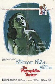 <i>The Pumpkin Eater</i> 1964 film by Jack Clayton