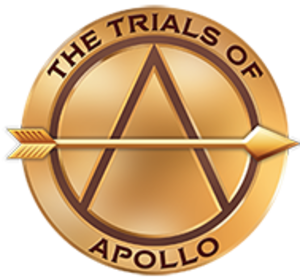 The Trials of Apollo - Logo of the series