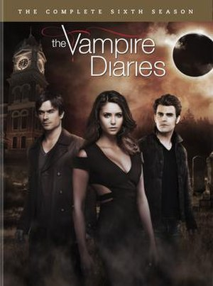 The Vampire Diaries (season 6) - Image: The vampire diaries season 6 dvd
