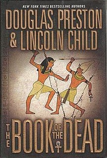 <i>The Book of the Dead</i> (novel) novel by Lincoln Child