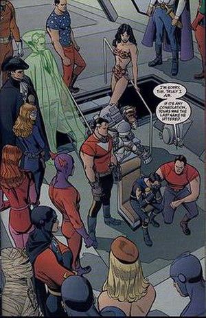 SMASH (comics) - Image: Tom Strong 11 SMASH