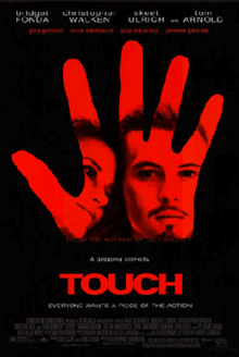 "Movie poster for the 1997 film ""Touch""."