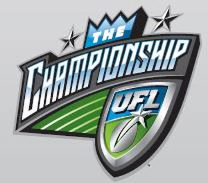 2009 UFL Championship Game - Image: UFL Championship