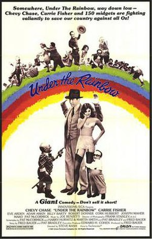 Under the Rainbow - Film poster.