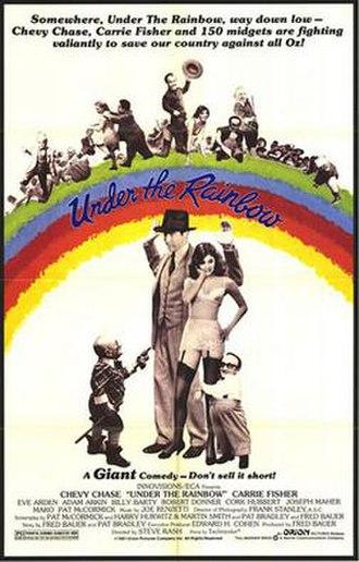 Under the Rainbow - Film poster.