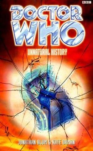 Unnatural History (novel) - Image: Unnatural History (Doctor Who)
