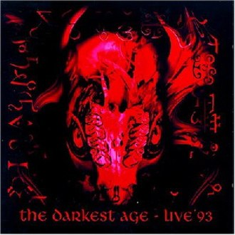 The Darkest Age: Live '93 - Image: Vaderthedarkestageli ve