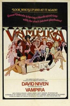 Vampira (1974 film) - Image: Vampiraposter