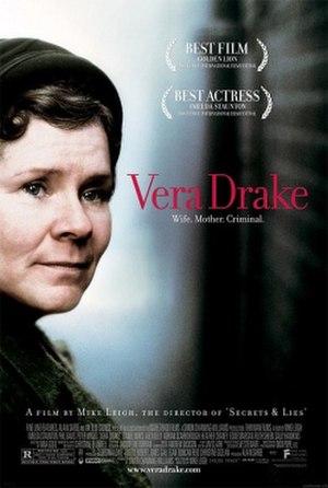 Vera Drake - Theatrical release poster