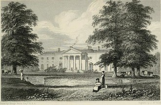 George Petrie (artist) - Vice-Regal Lodge, Dublin, c.1831 – by George Petrie.