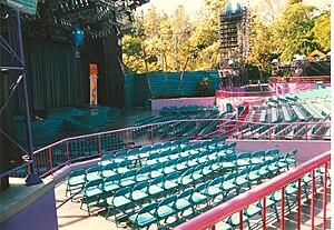 Fantasyland Theatre - Former Videopolis dance stage in Fantasyland.