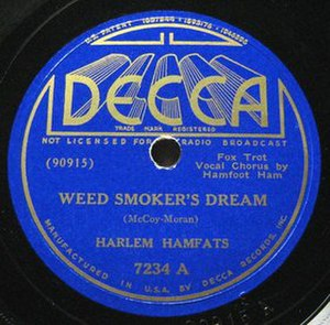 Why Don't You Do Right? - Image: Weed Smoker's Dream single cover