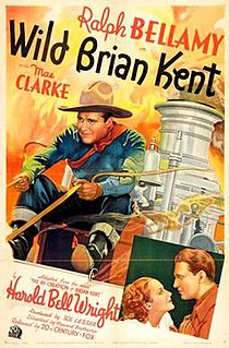 <i>Wild Brian Kent</i> 1936 film by Howard Bretherton