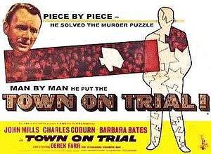 Town on Trial - UK quad format poster