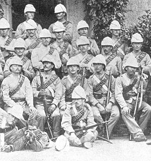 Nile Expedition - 11th Hussars from the Gordon Relief Expedition