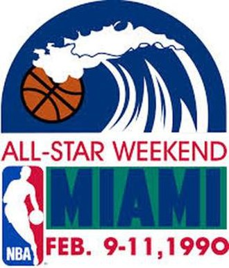1990 NBA All-Star Game - Image: 1990 NBA All Star Game