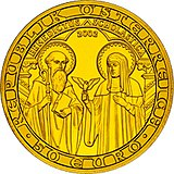 Austria 50 euro 'The Christian Religious Orders' commemorative coin