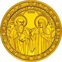 2002 Austria 50 Euro Christian Religious Orders front