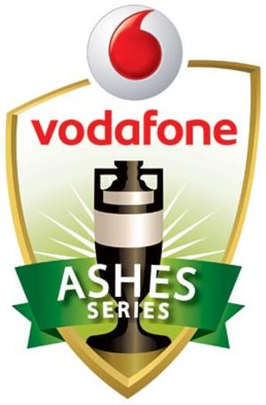 2010–11 Ashes series - Image: 2010 11 Vodafone Ashes series logo