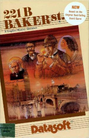 221B Baker Street (video game) - Cover art