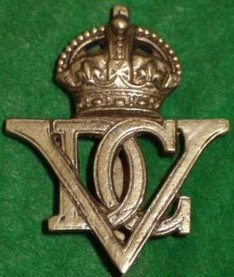 5th Royal Inniskilling Dragoon Guards - Regimental Badge.