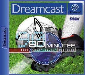 90 Minutes - European Dreamcast cover art