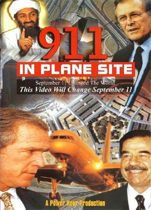 911: In Plane Site - DVD coverart