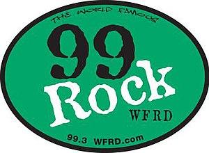 WFRD - Image: 99Rock WFRD Color 2