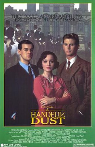 A Handful of Dust (film) - US Film poster