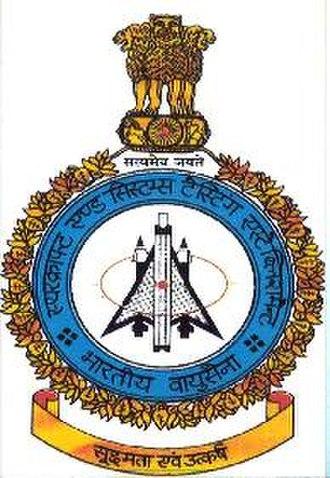 Indian Air Force Test Pilot School - Image: ASTE CREST
