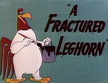 march 2014 a fractured leghorn merrie melodies foghorn leghorn series
