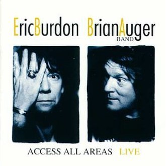 Access All Areas (Eric Burdon & Brian Auger Band album) - Image: Access All Areas (Eric Burdon & Brian Auger Band album)