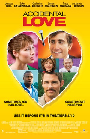 Accidental Love - Theatrical release poster