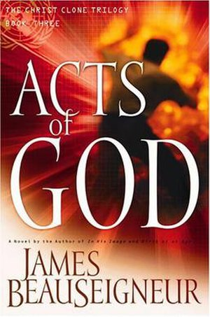 Acts of God (James BeauSeigneur novel) - Cover for Acts of God