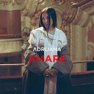 Amare (song) - Image: Adrijana Amare