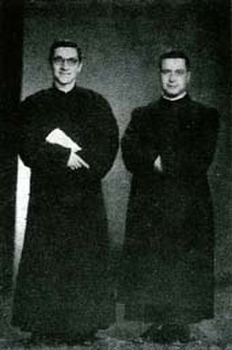 Gabriele Allegra -  Young Allegra (left) as he 1st arrived in China