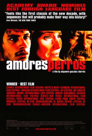 Amores perros - US release poster