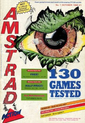 Amstrad Action - Image: Amstradaction 1