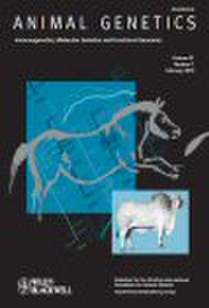 Animal Genetics - Image: Animal Genetics (journal)