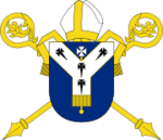 Arms of the see of Canterbury.